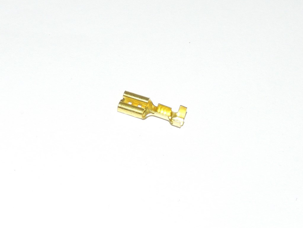 Connector / Faston, cavity 3 - female