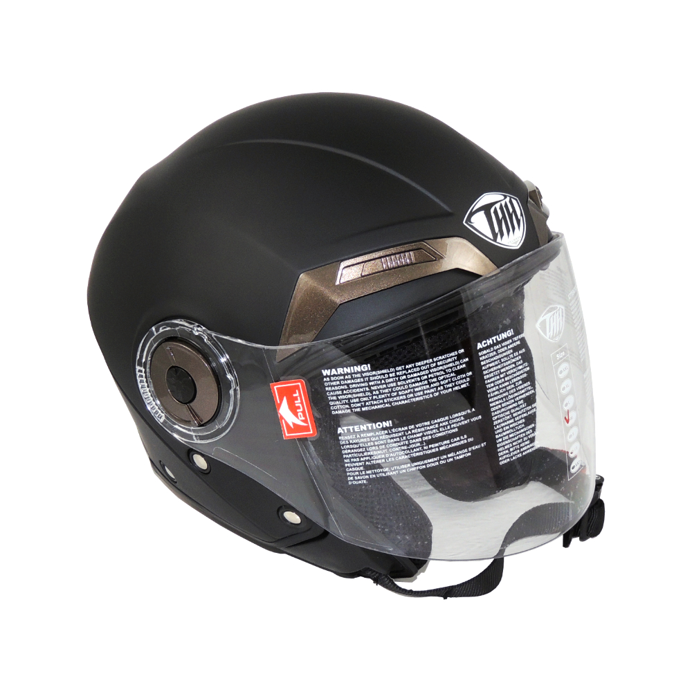 Helmet (XL) MSK-THH (BLACK MATT)