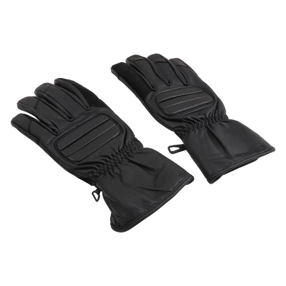 Gloves (L), STRASE, ROLEFF - MEN'S (BLACK)