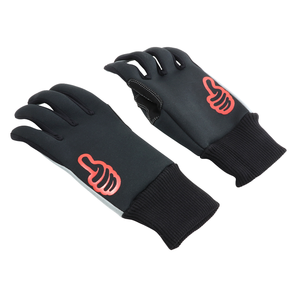 Gloves (L), SAN MARINO WINTER, MOTO ONE - MEN'S (BLACK)
