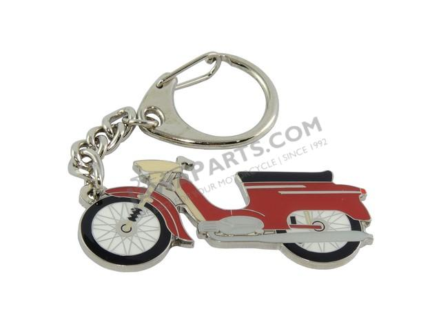 Key ring, RED - JAWA 50 21