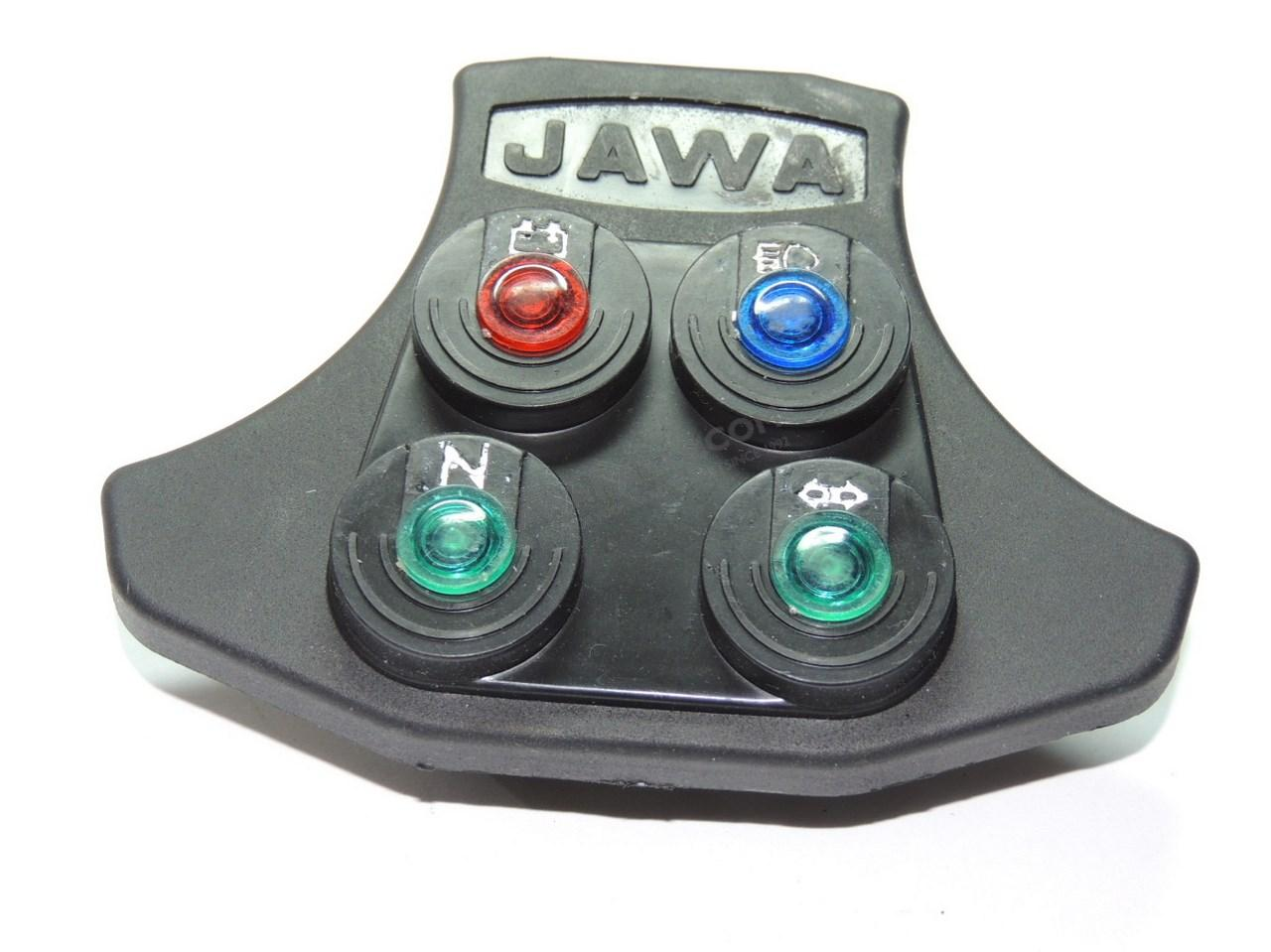 parts jawa 350 type 634 640 cover of control indicators. Black Bedroom Furniture Sets. Home Design Ideas