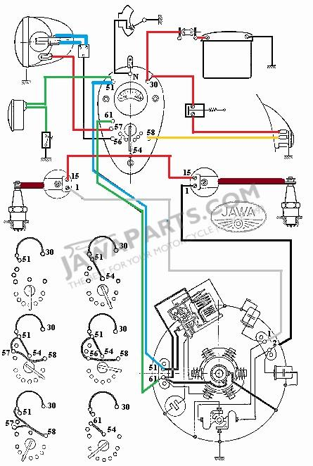 parts jawa 250 350 panel k v electrical installation switch box rh jawaparts com jawa 350 wiring diagram jawa 210 wiring diagram