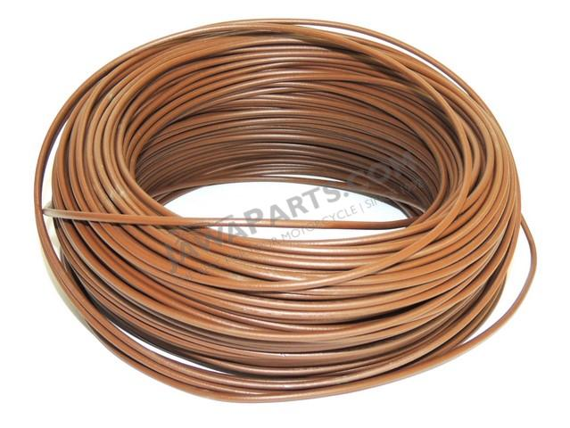Cable 1.5 mm - BROWN (price per meter)