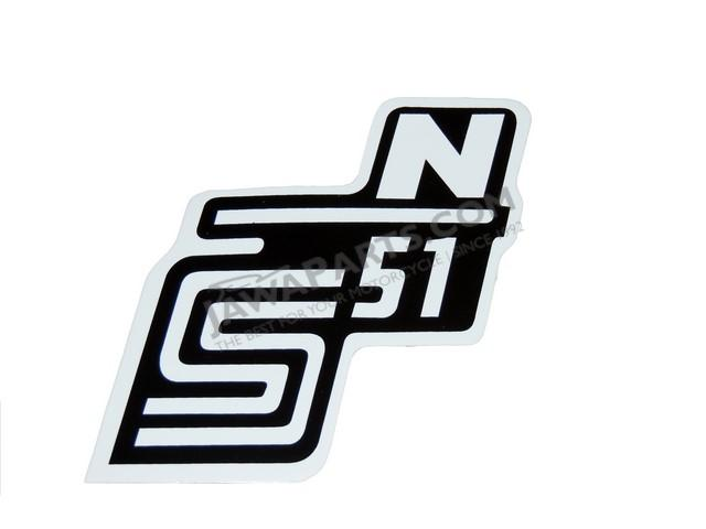 Sticker Of Cover S51 N White Simson S51