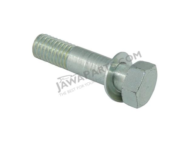 Mounting screw of rear shock absorber (CZ) - JAWA, ČZ
