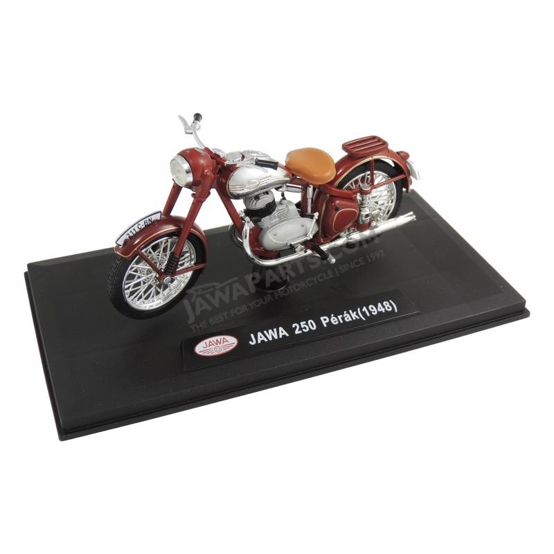 Model JAWA 250 Pérák (1948) 1:18, RED