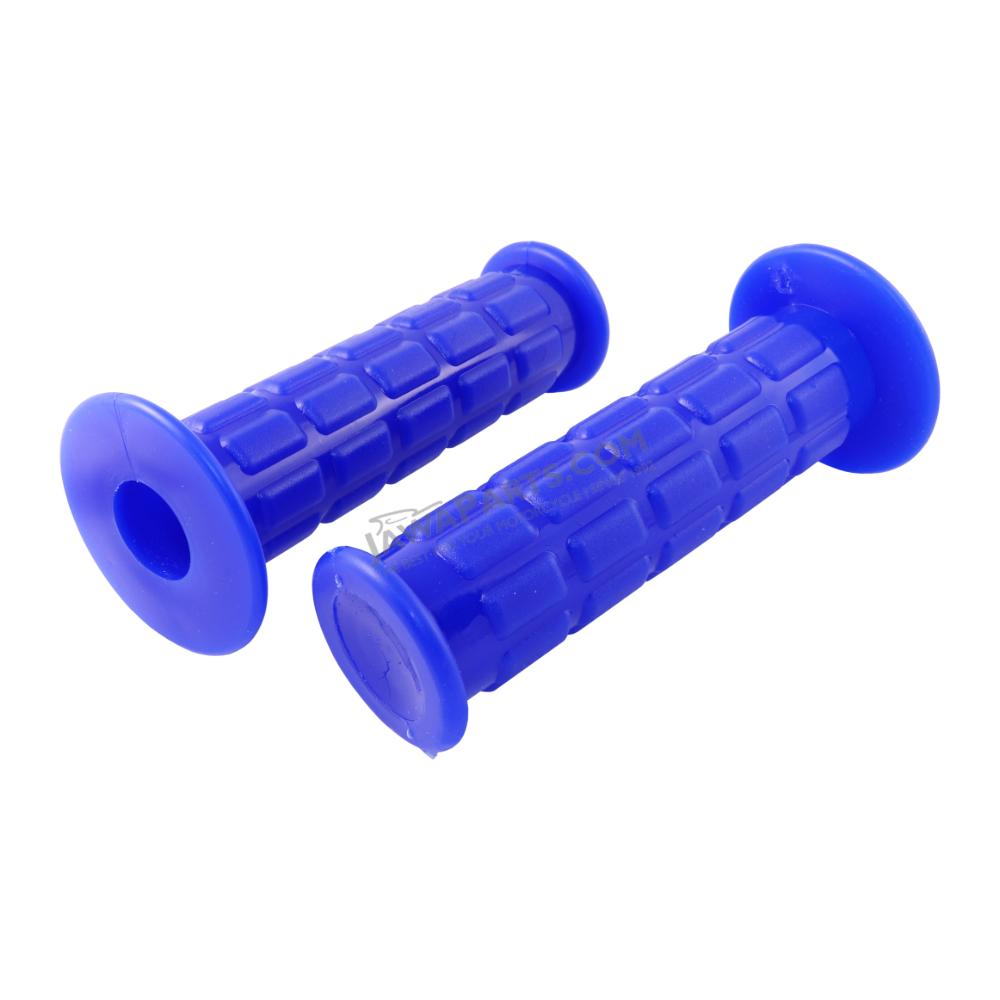 Grip rubbers L+R, BLUE (MZA) - Simson