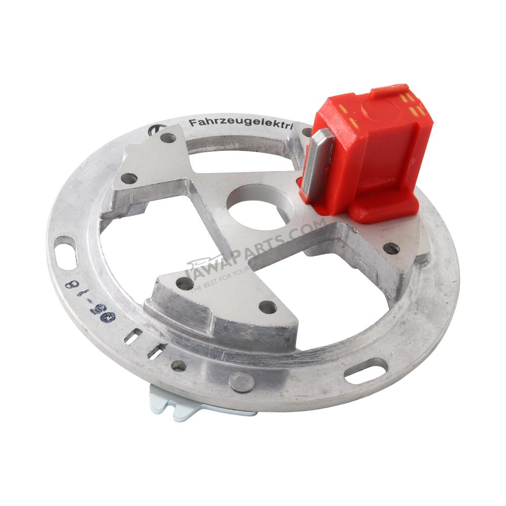 Base plate of ignition, RED (MZA) - Simson