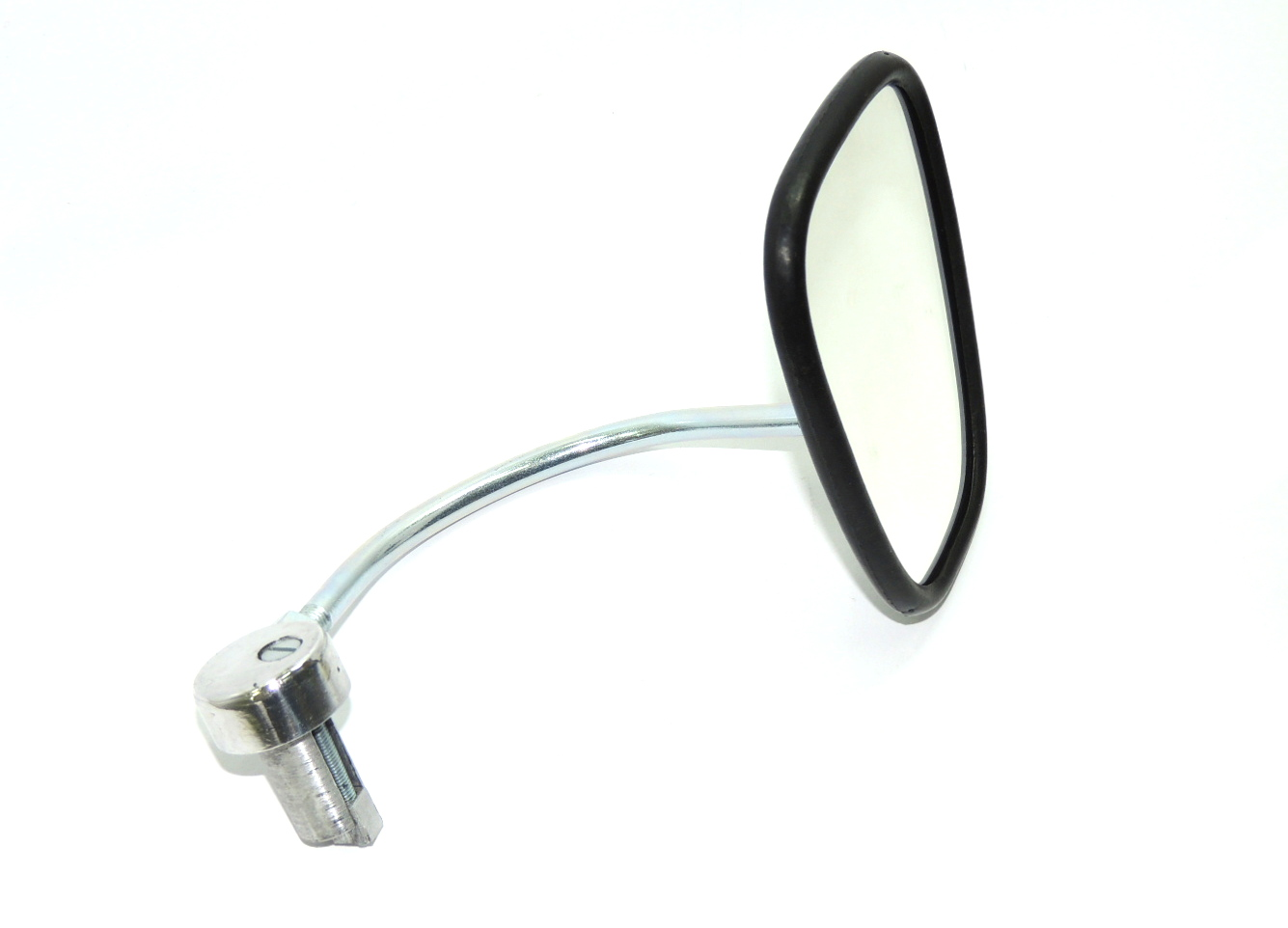 Mirror with holder to handlebars