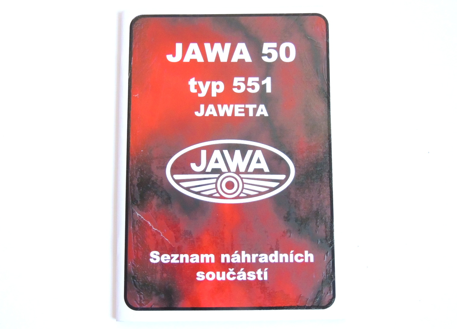 Catalog of spare parts  Jawetta