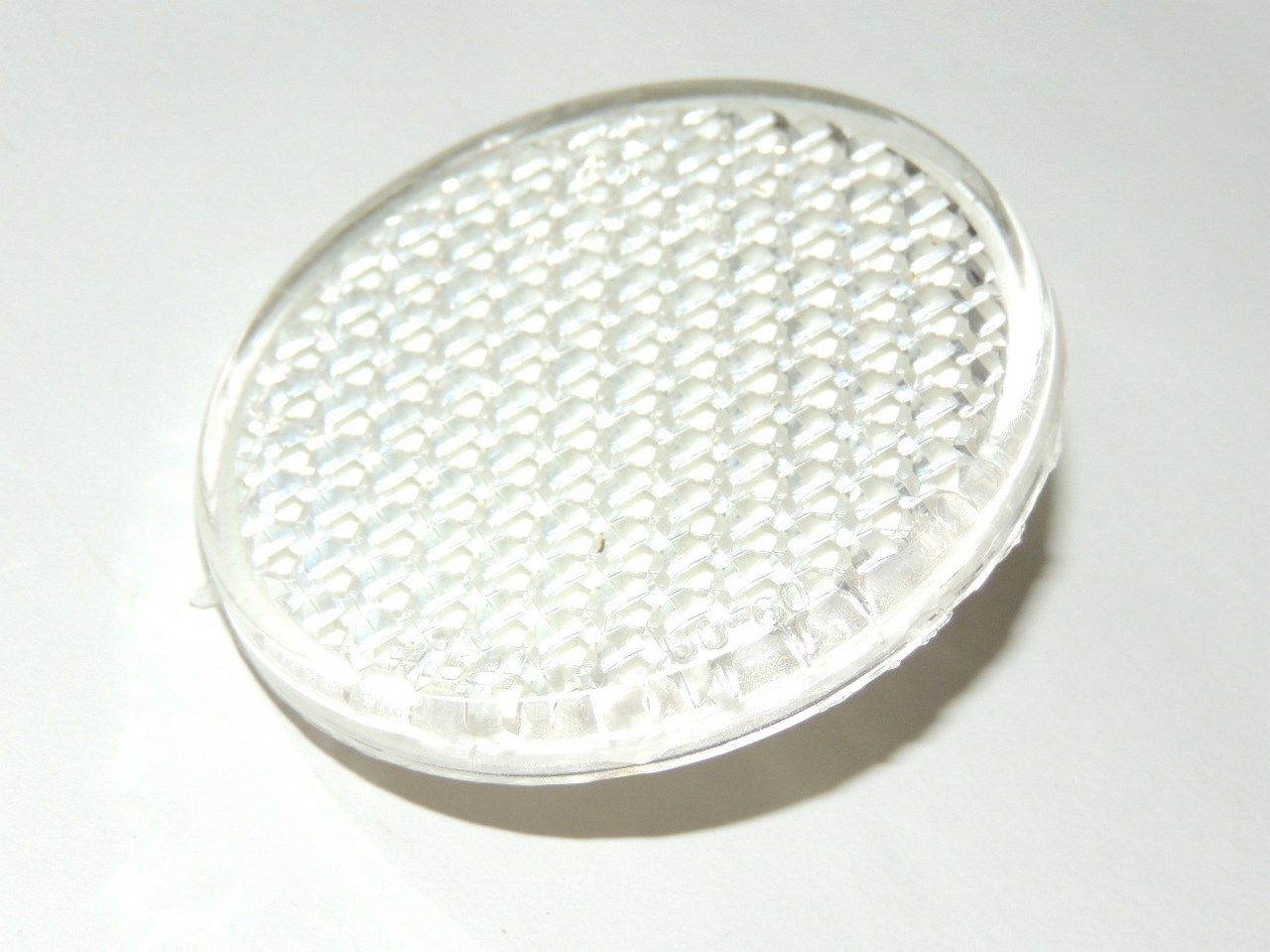 Reflector - WHITE 62mm - universal