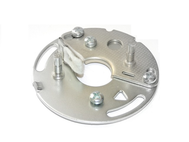Ignition plate.A+B 2-Cylinder, bare - Jawa 350
