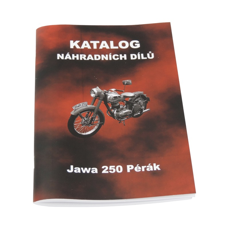 Catalog of spare parts - JAWA 250 Pérák