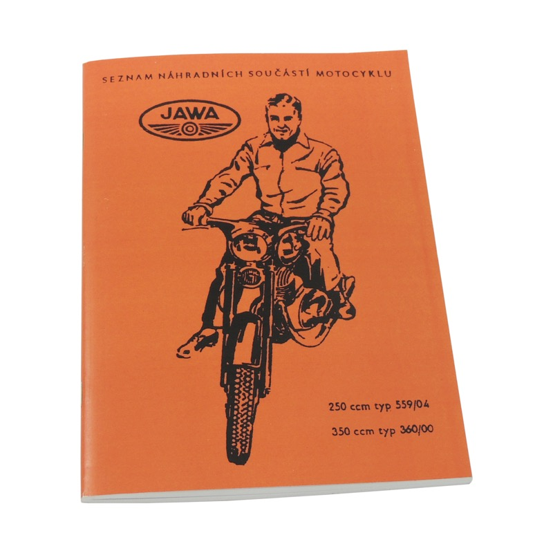 Catalog of sparew parts - JAWA 250/350 Panelka