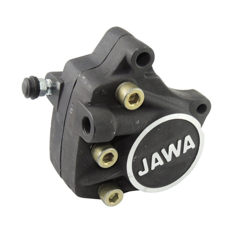Brake caliper with brake pads - JAWA 350 639-640