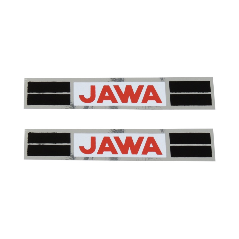 Stickers (2pcs), 160x30mm - JAWA