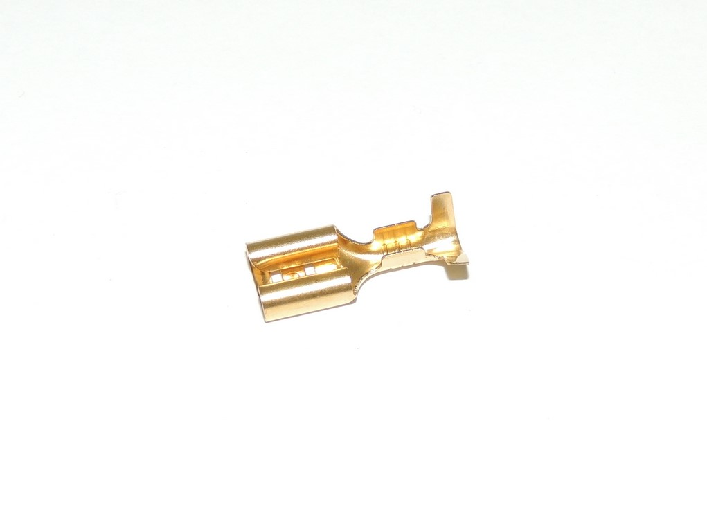 Connector / Faston, cavity 6 - female