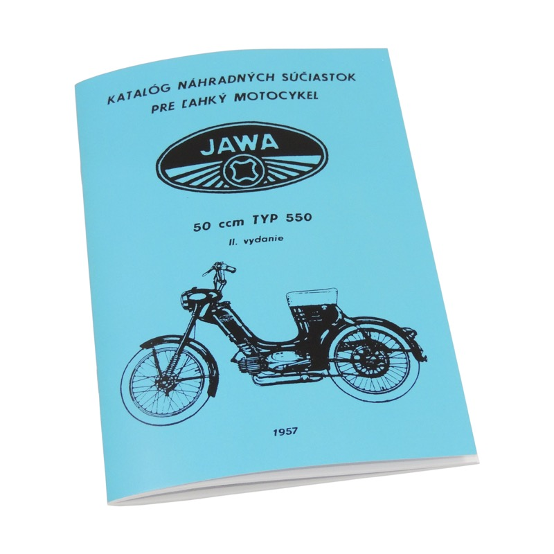 Catalog of spare parts - JAWA 50 550