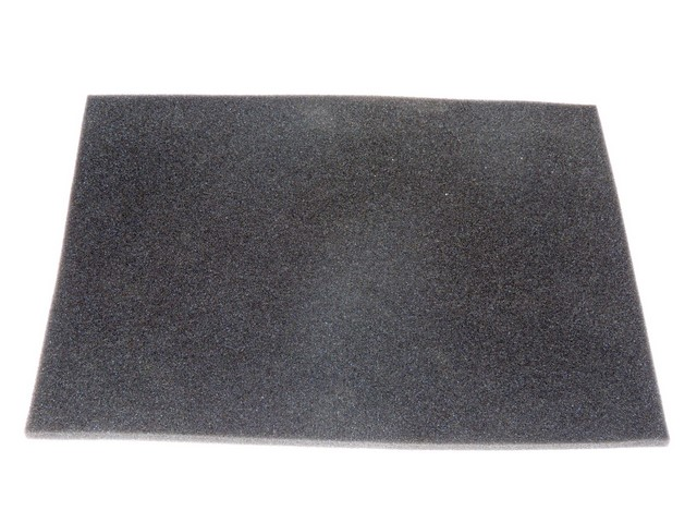 Foam plastic of filter 40x30, BLACK - UNI