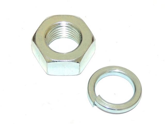Nut of wheel axis M14 with washer