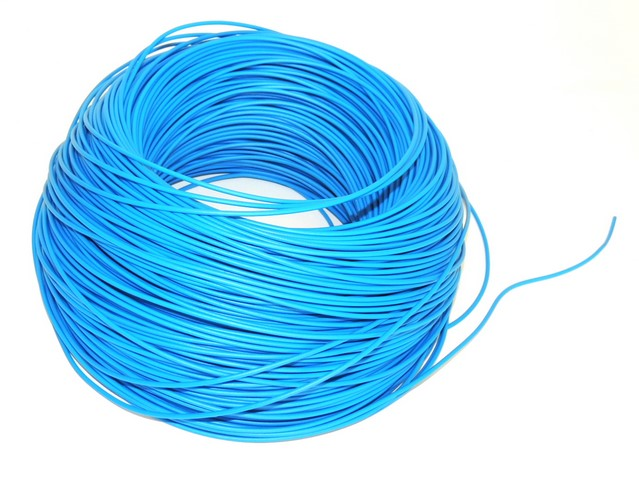 Cable 0,75 mm - BLUE (price per meter)