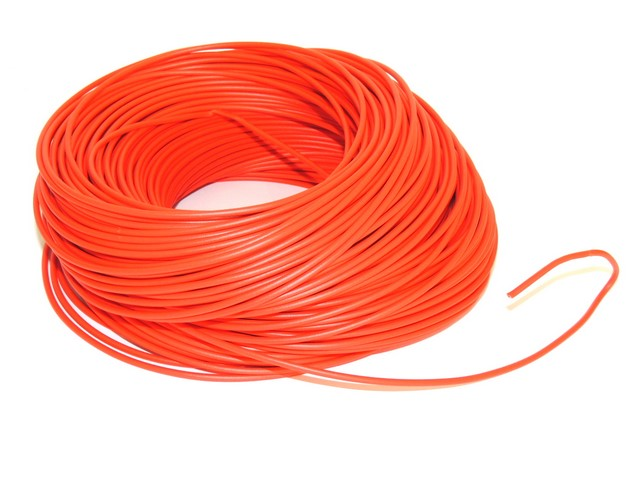 Cable 0,75 mm - RED (price per meter)