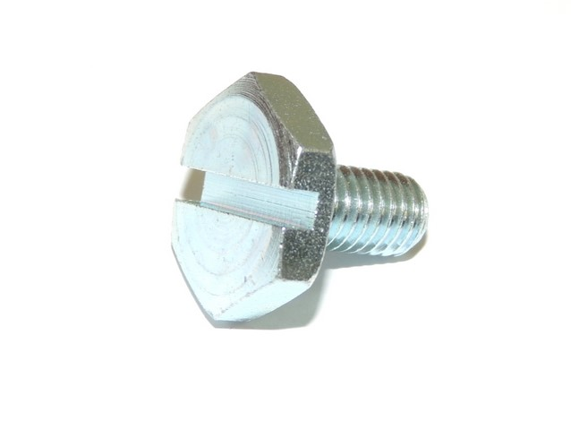 Screw of sprocket wheel with groove - ČZ 125 T,B