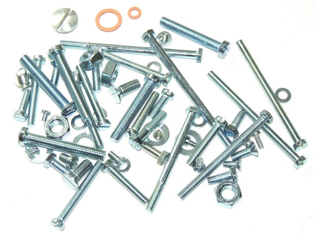 Set of engine screws - Jawa 250 Pérák