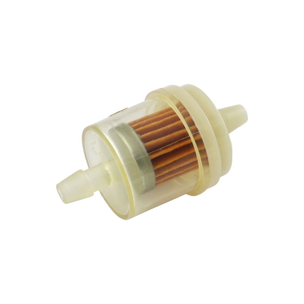 Fuel filter (paper insert), ROUND (big) - UNI