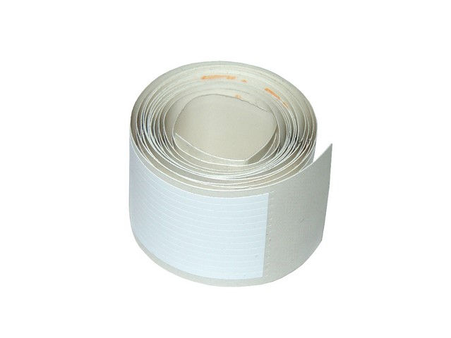Sticker for lineation 120 cm, narrow (2mm) - WHITE