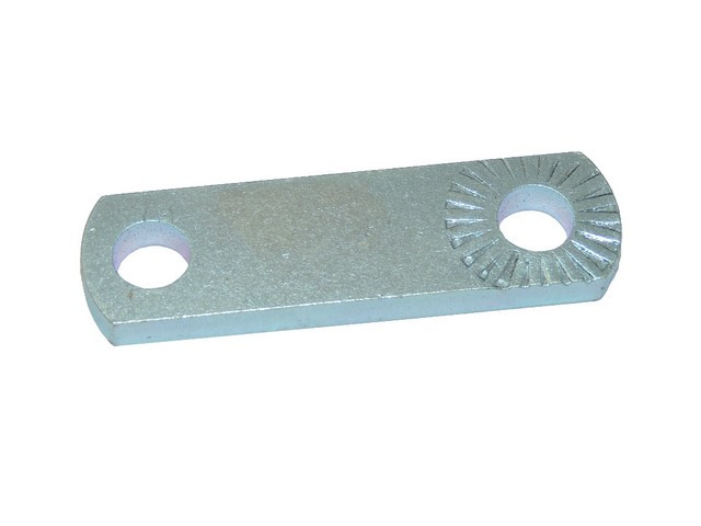 Holder of front footrest, knurling (90mm) - ČZ 476-488