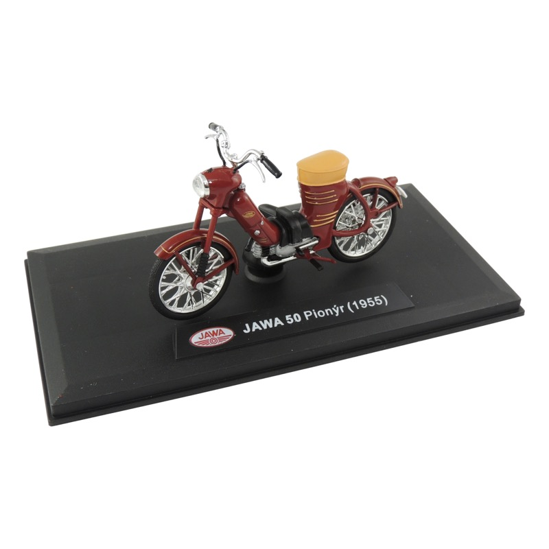 "Model JAWA 50 type 550 ""Pařez"" (1955) 1:18, RED"