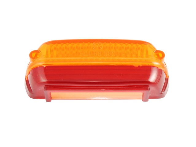 Cover of rear light, RED-ORANGE - ČZ / PAV
