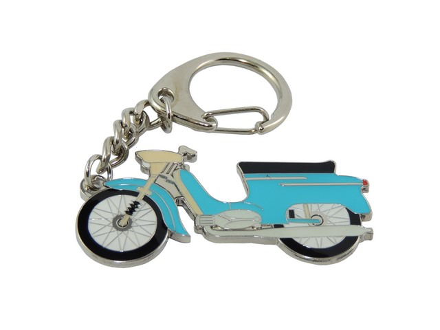 Key ring, BLUE - JAWA 50 21
