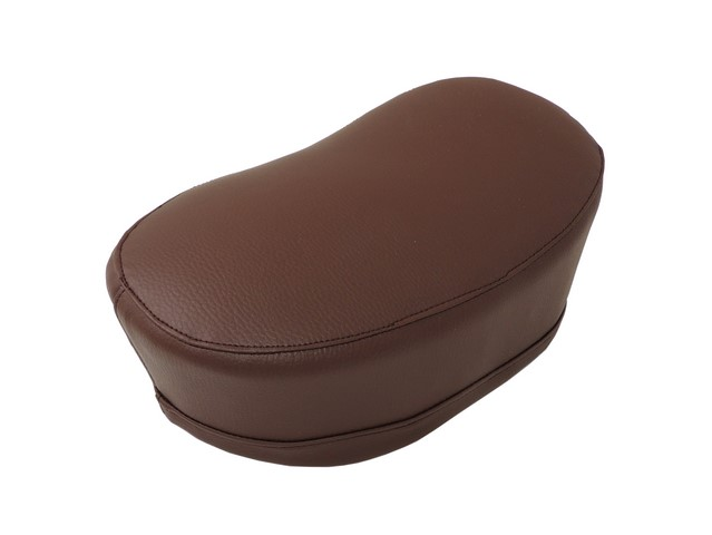 Seat cover, DARK BROWN - JAWA 50 555