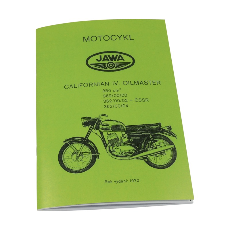 Catalog of spare parts - JAWA 350 Californian
