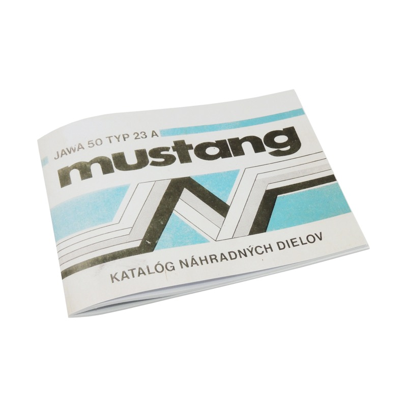 Catalog of spare parts - JAWA 50 23A (Mustang)