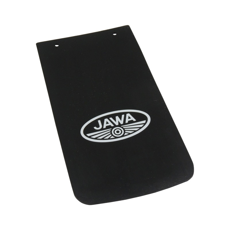 Apron of mudguard, smooth (logo JAWA) - JAWA 350 638,639