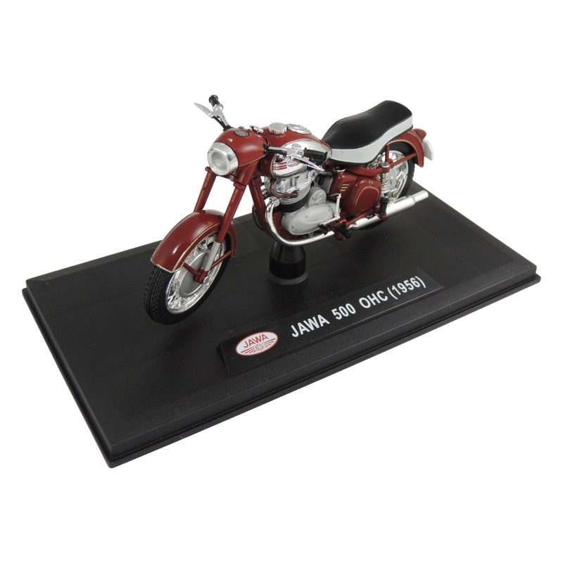 Model JAWA 500 OHC (1956) 1:18, RED (BLACK SEAT)