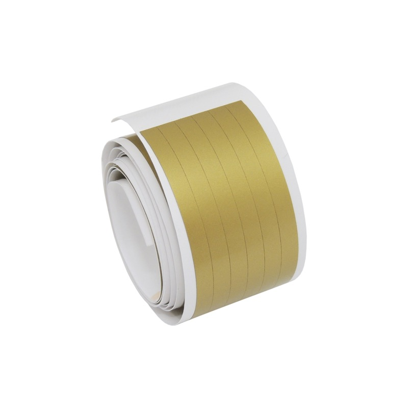 Sticker for lineation 120 cm, wide (4mm) - GOLD