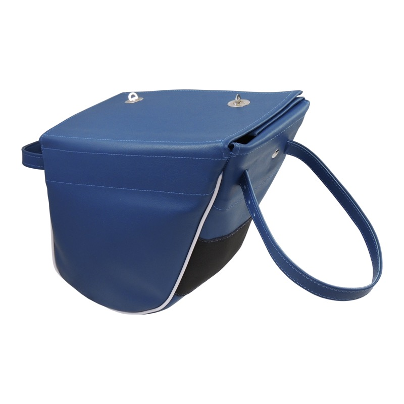 Bag on frame (big), DARK BLUE - JAWA 50 Pionýr