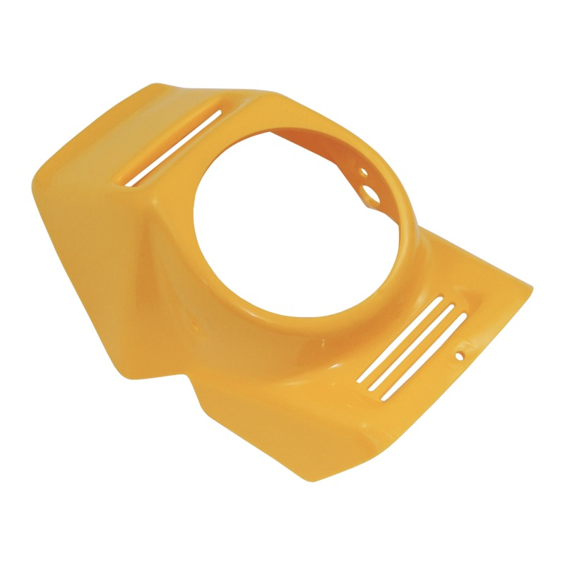 Mask of front lamp, YELLOW - Babetta, Korádo