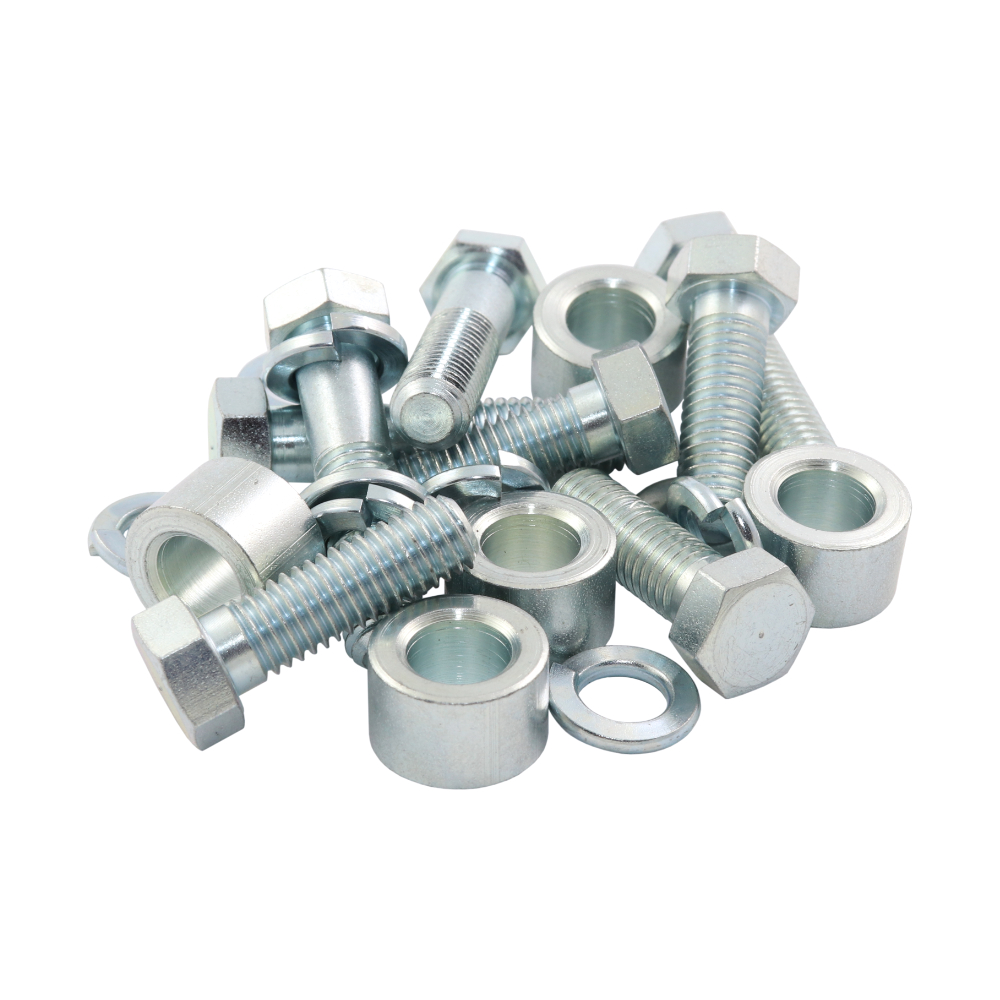 Set of screws for rear footrests / towing equipment - PAV