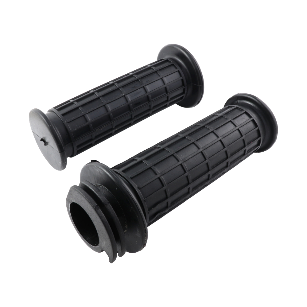 Handle + grip rubbers (L+R) - JAWA 350 634-640