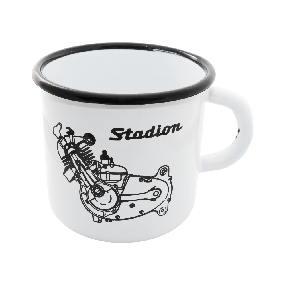 Tin Mug (400 ml) - Engine of Stadion
