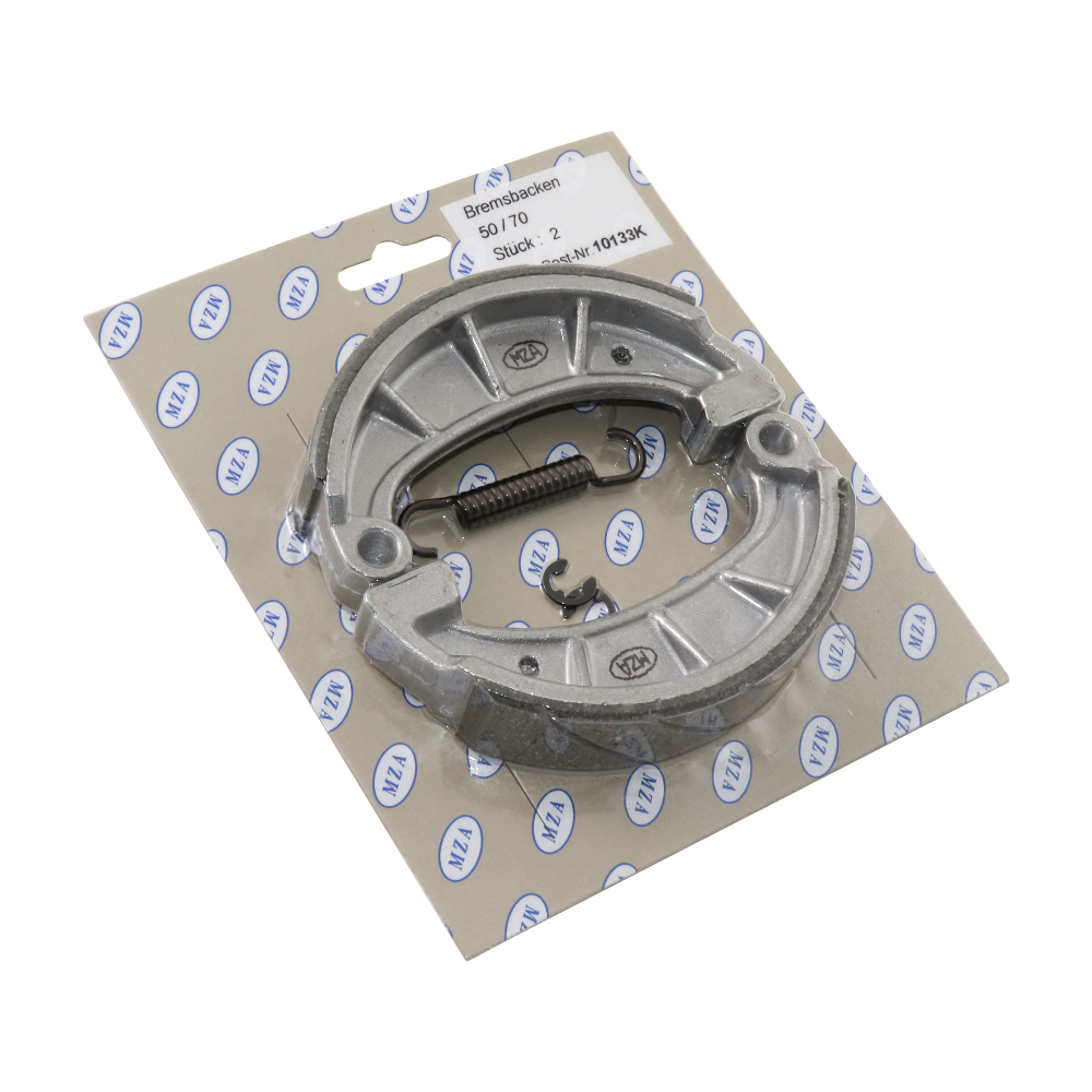 Brake shoes, SPORT (MZA), set - Simson