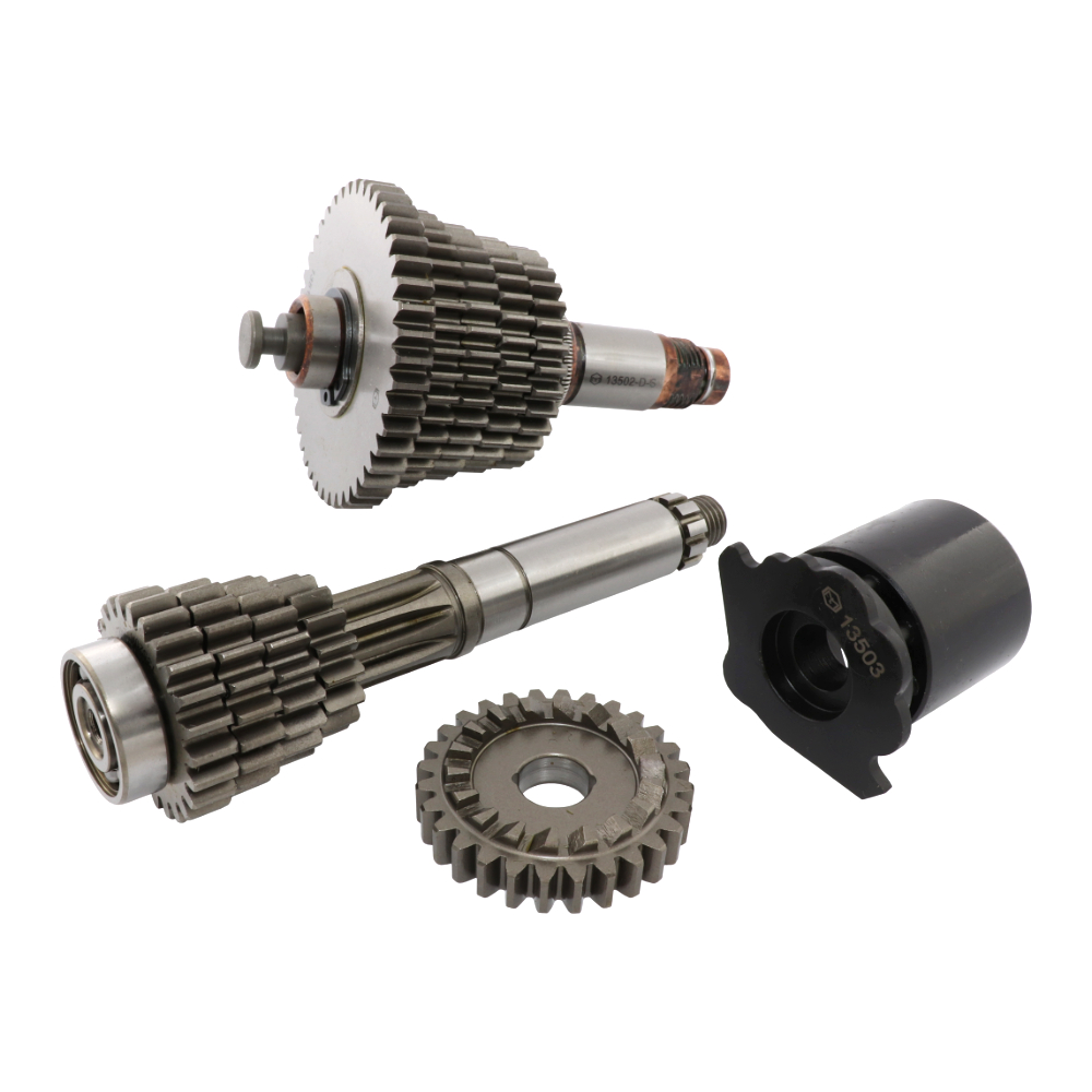 Gearbox (5 speeds), LONG TRANSFER (MZA) - Simson