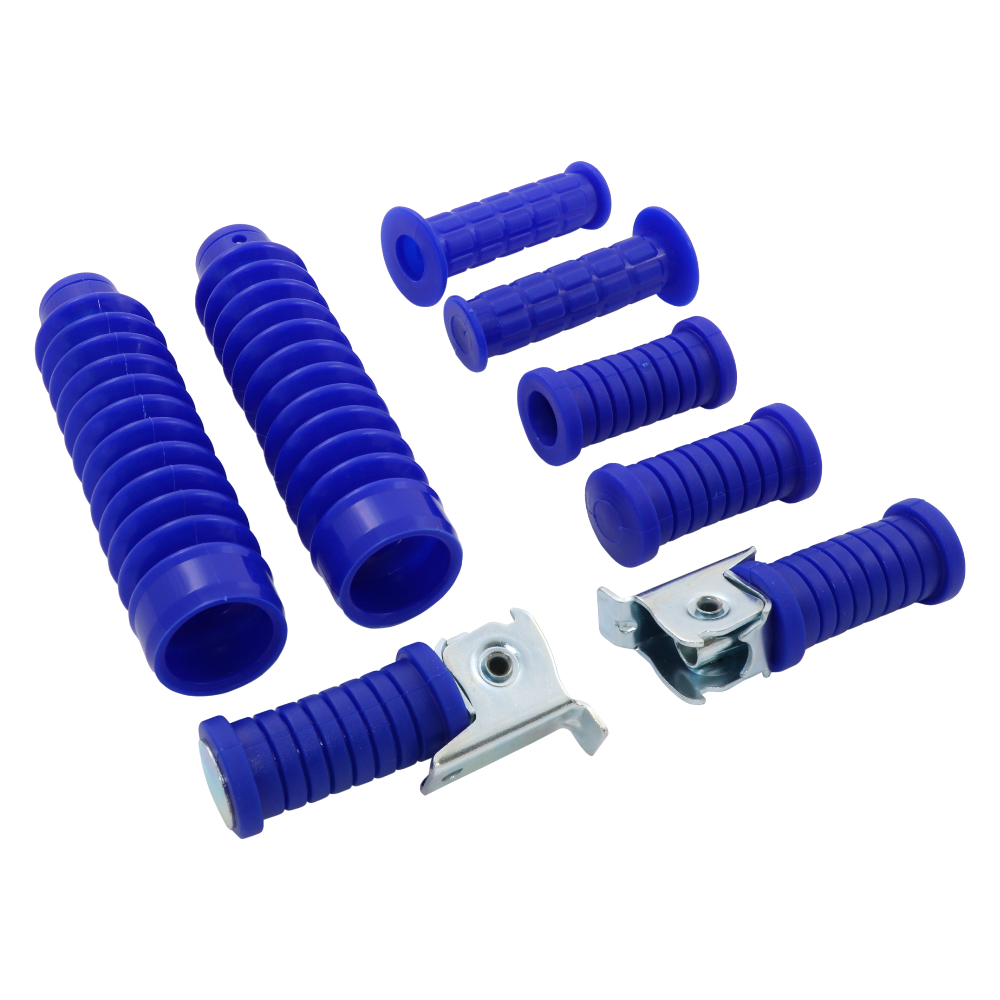 Set of rubbers and cuffs (8pcs), BLUE (MZA) - Simson