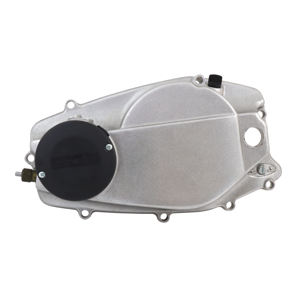 Cover of clutch with lid (without pump), LEFT - JAWA 350 638-640 Oilmaster